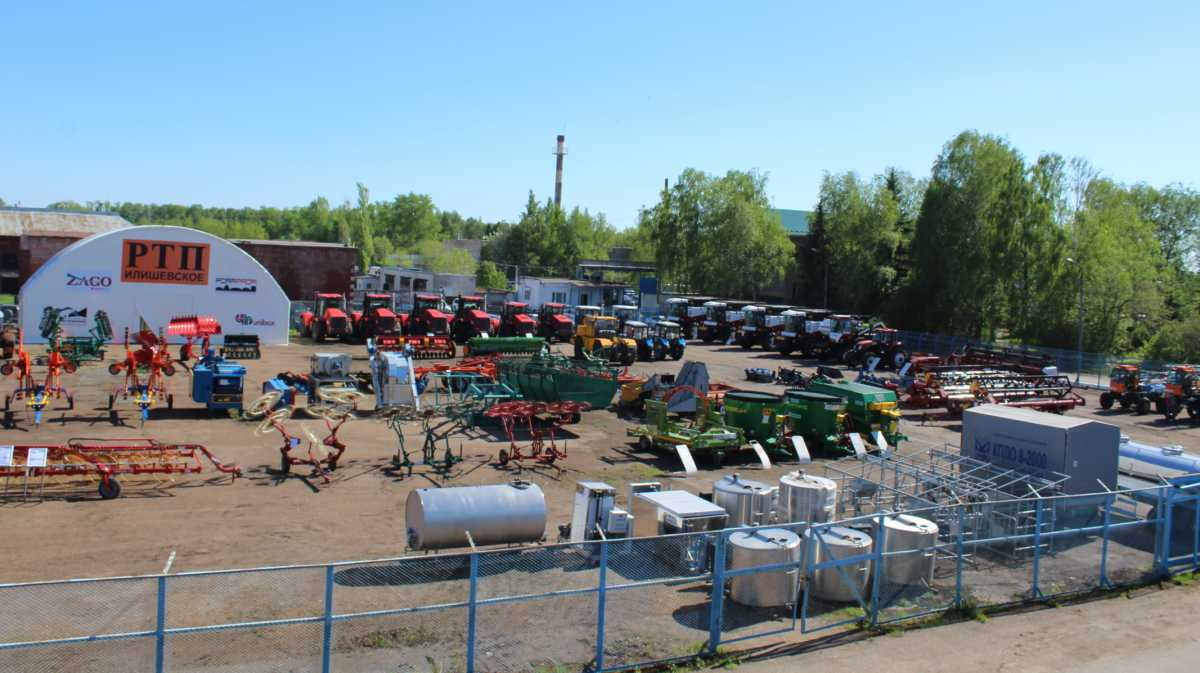 ГУСП «Башсельхозтехника» РБ приглашает всех на постоянно действующую выставочную площадку по продаже сельскохозяйственной техники, оборудования и запасных частей