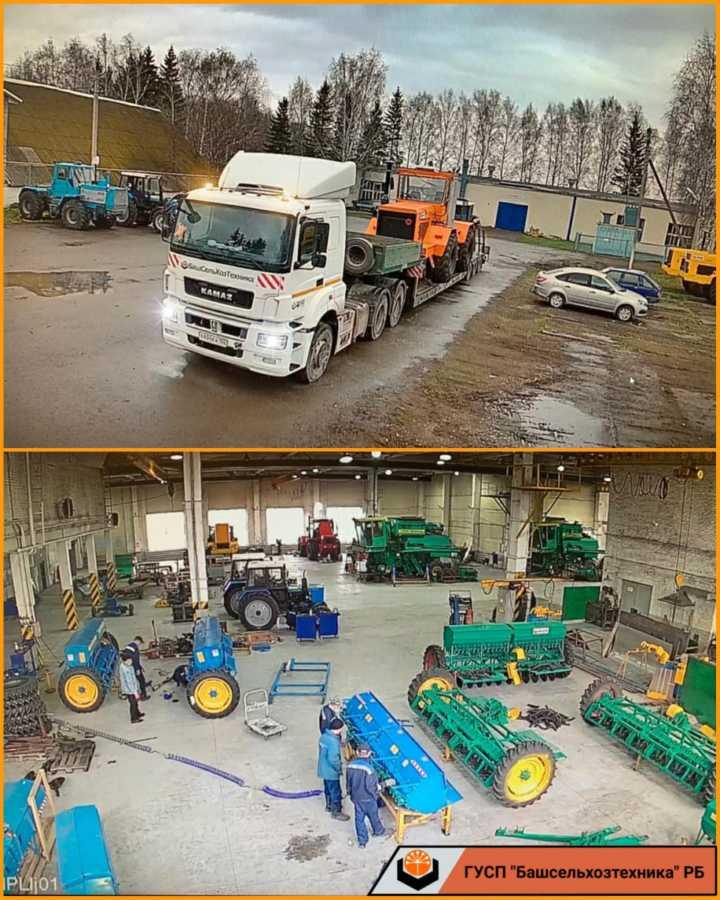В ГУСП «Башсельхозтехника» РБ на базе Чишминского филиала идет процесс подготовки техники к транспортировке для передачи заказчику после капитально-восстановительного ремонта и модернизации.