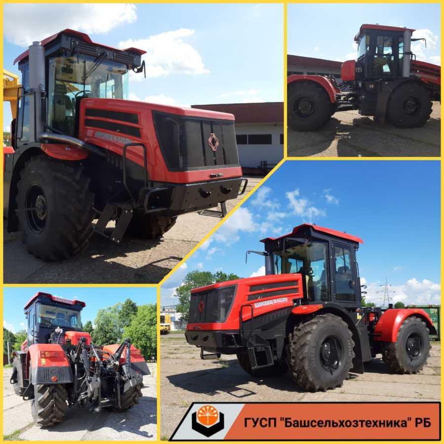 В ГУСП «Башсельхозтехника» РБ поступили трактора  К-525 в комплектации Премиум и        К-730 в комплектации Стандарт