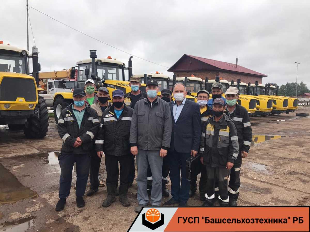 4 августа 2020 года специалисты ГУСП «Башсельхозтехника» РБ провели обучение механизаторов УТТ «Башнефть»