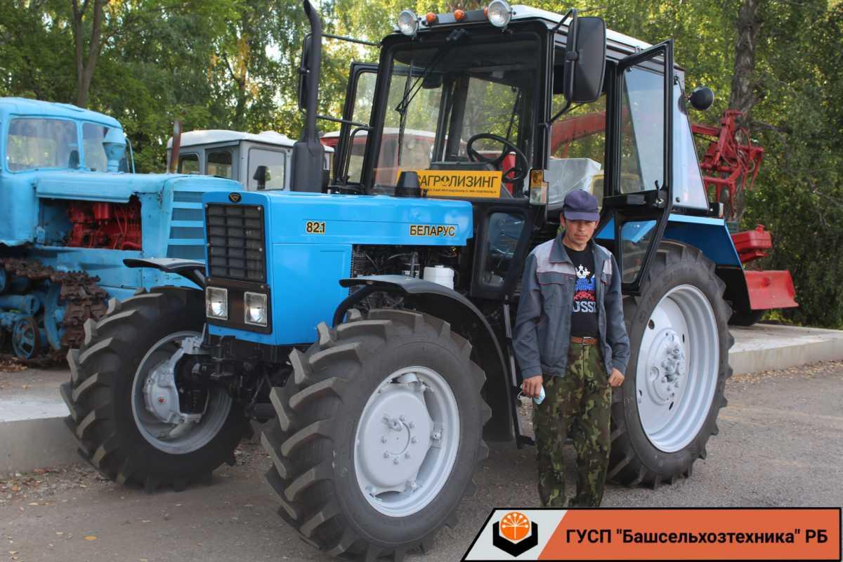ГУСП «Башсельхозтехника» РБ реализовало очередной трактор МТЗ 82.1 / Беларус 82.1