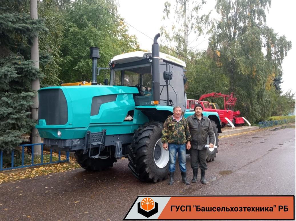 ГУСП «Башсельхозтехника» РБ реализовало очередной трактор ХТЗ-150К-09-25 собственной сборки.