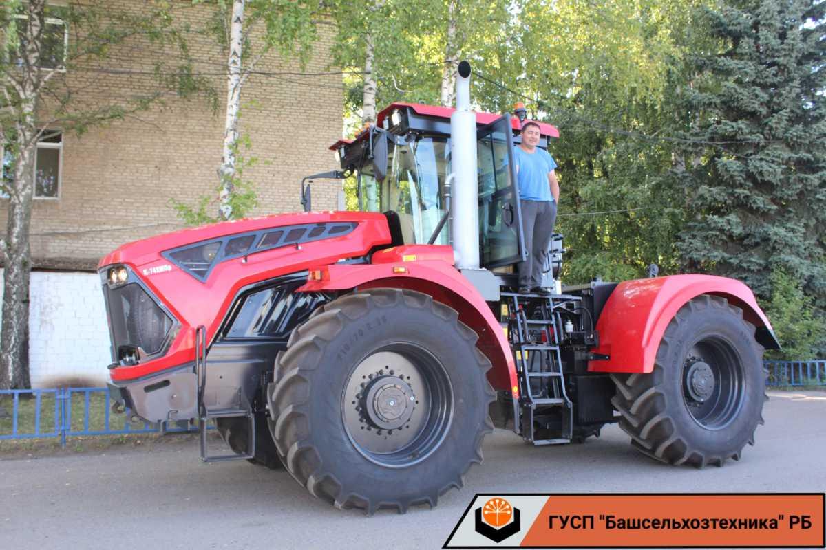 ГУСП «Башсельхозтехника» реализовало очередной трактор «Кировец» К-742М Премиум!