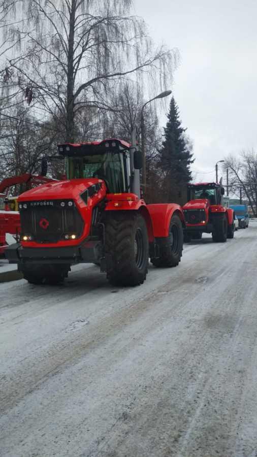 ГУСП «Башсельхозтехника» РБ реализовало партию тракторов Кировец К-742МСт1.