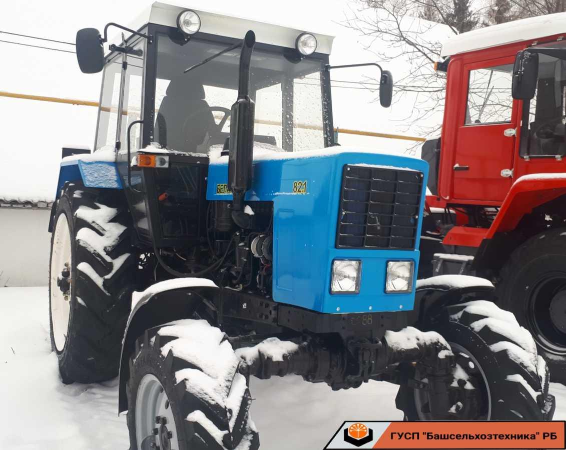 В Чишминском филиале ГУСП «Башсельхозтехника» РБ завершился капитально — восстановительный ремонт и модернизация трактора МТЗ 82.1 🚜