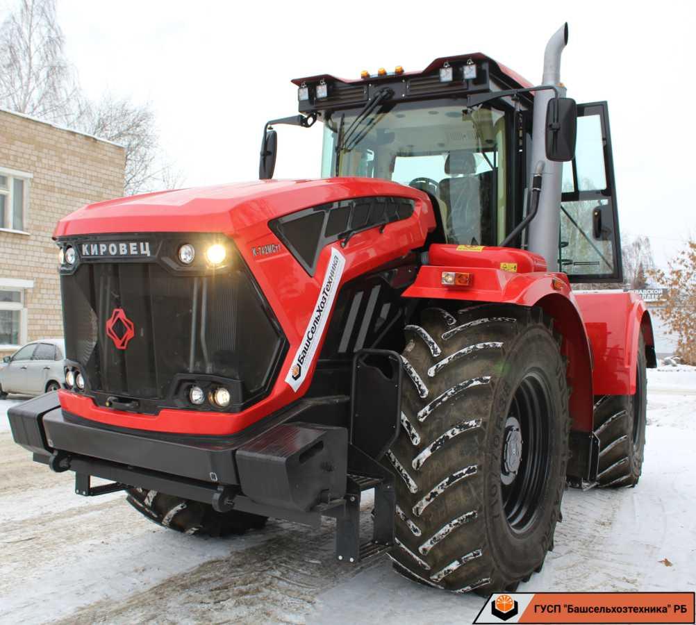 Сегодня в ГУСП «Башсельхозтехника» реализовали два трактора производства АО «Петербургский тракторный завод».