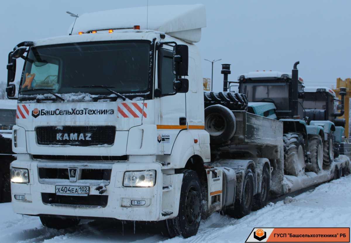 В ГУСП «Башсельхозтехника» РБ поступила партия тракторов ХТЗ-150К