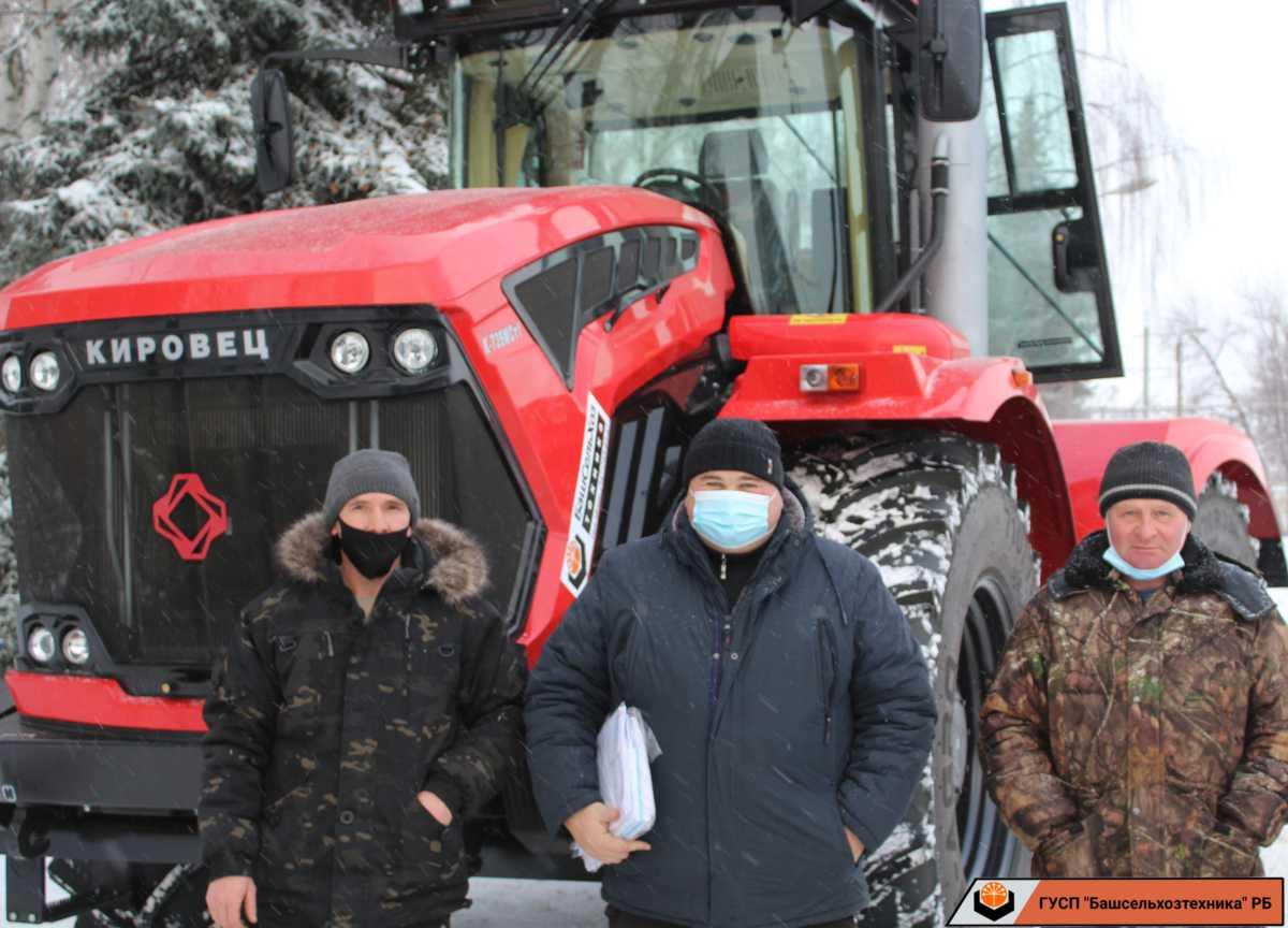 ГУСП «Башсельхозтехника» РБ реализовал трактор Кировец К-739МСт1. Благодарим,что остановили выбор на нашей компании.