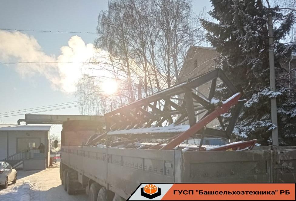 Сегодня ГУСП «Башсельхозтехника» реализовало жатку ЖВЗ-7