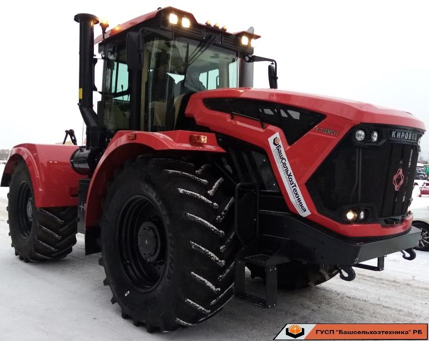Сегодня ГУСП «Башсельхозтехника» РБ реализовал трактор семейства Кировец, модели К-730 Стандарт.