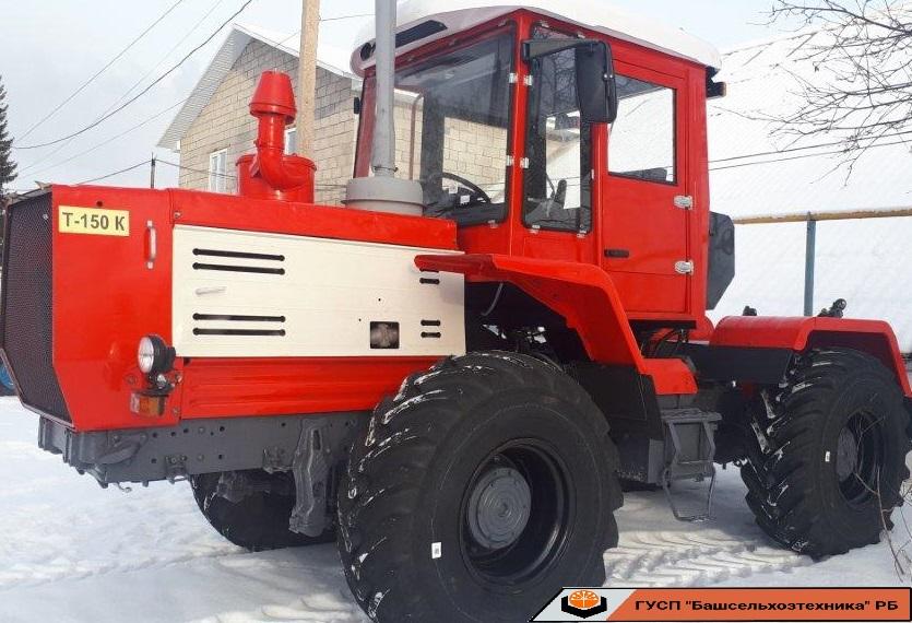В Чишминском филиале ГУСП «Башсельхозтехника» РБ завершился капитально — восстановительный ремонт и модернизация трактора Т-150К .