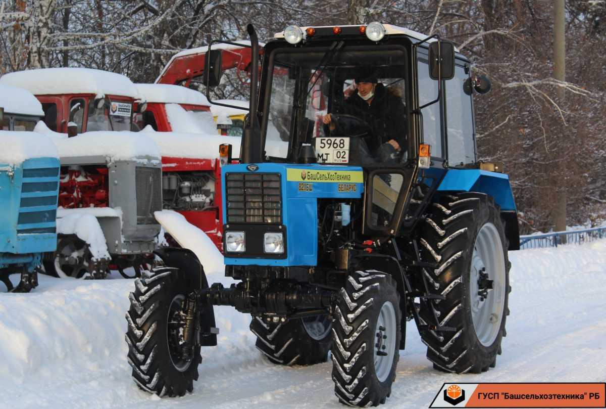 Сегодня ГУСП «Башсельхозтехника» РБ реализовало очередной трактор МТЗ-82.1 БШ собственной сборки.