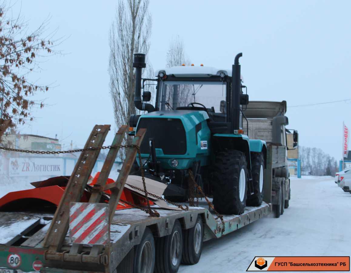 Сегодня ГУСП «Башсельхозтехника» РБ реализовало очередной трактор ХТЗ-150К-09-25 собственной сборки
