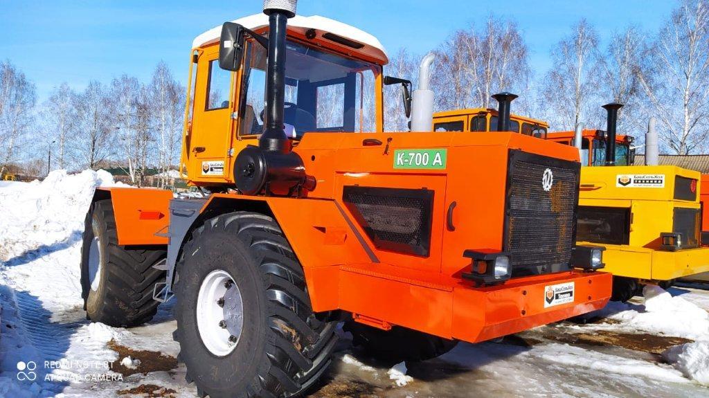 В Чишминском филиале ГУСП «Башсельхозтехника» РБ завершился капитально — восстановительный ремонт и модернизация трактора К-700А