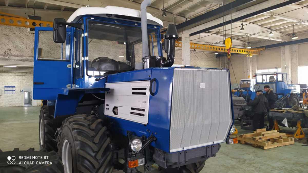 В Чишминском филиале ГУСП «Башсельхозтехника» РБ завершился капитально — восстановительный ремонт и модернизация трактора Т-150К
