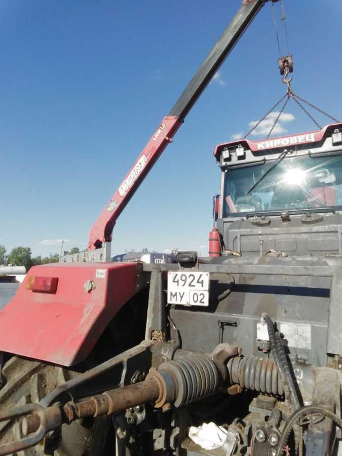 Специалисты сервисного центра ГУСП » Башсельхозтехника » РБ выполнили работы по установке коробки передач после гарантийного ремонта