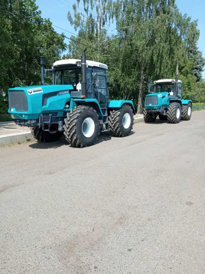 Сегодня ГУСП «Башсельхозтехника» РБ реализовало очередную партию тракторов БТЗ-245К.20