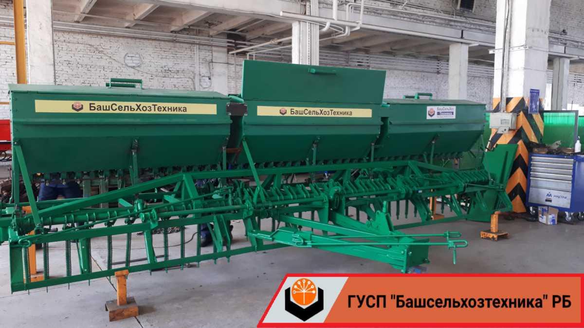 Сегодня ГУСП «Башсельхозтехника» РБ завершило очередную модернизацию сеялки СЗ-5,4