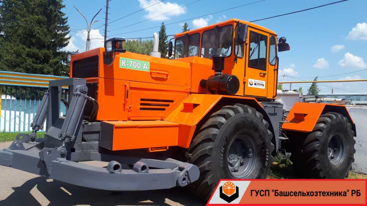 Сегодня в Чишминском филиале ГУСП «Башсельхозтехника» РБ завершился капитально-восстановительный ремонт и модернизация трактора К-700А
