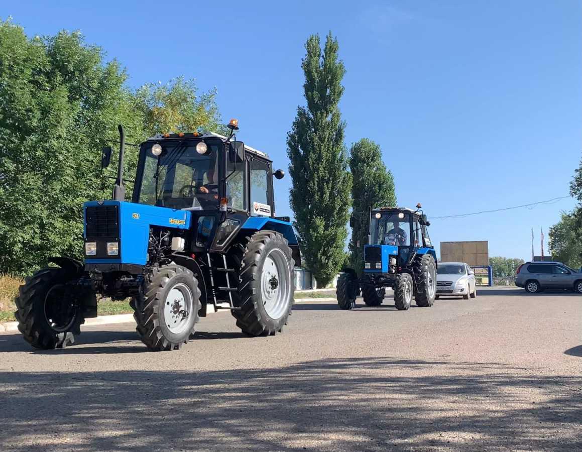 На центральную базу ГУСП «Башсельхозтехника» РБ вернулись трактора, которые принимали участие в Финале Национального чемпионата «Молодые профессионалы» (WorldSkills Russia) — 2021