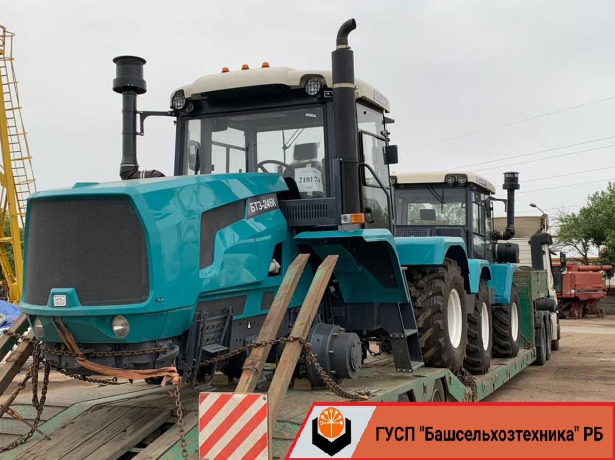 В ГУСП «Башсельхозтехника» РБ поступила партия тракторов производства ООО «Брянский тракторный завод»