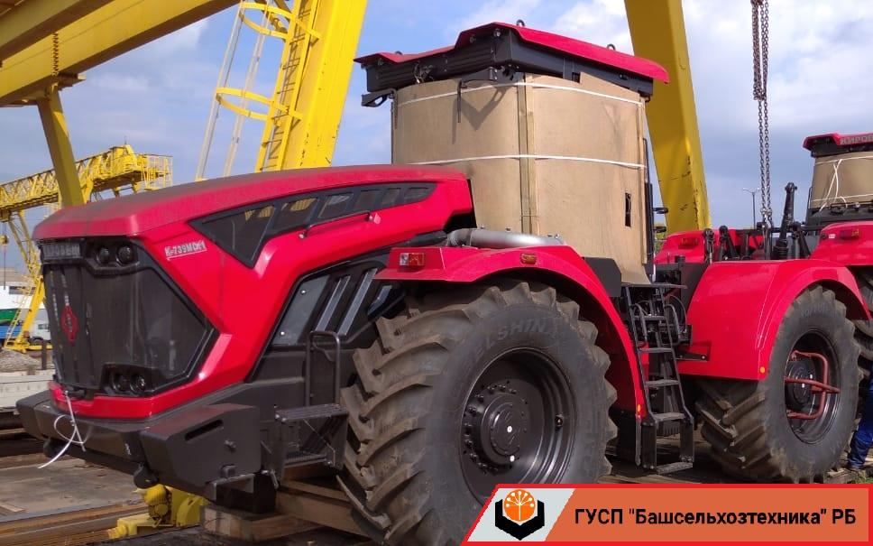 В ГУСП «Башсельхозтехника» РБ поступила новая партия тракторов производства АО «Петербургский тракторный завод»