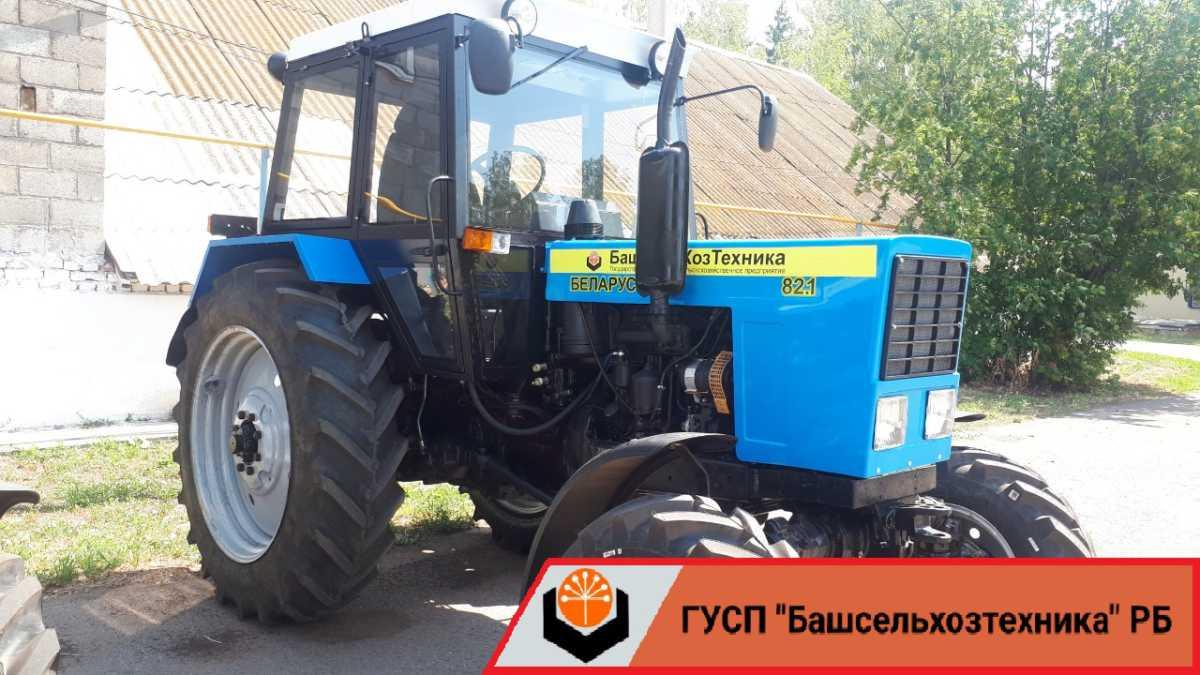 В Чишминском филиале ГУСП «Башсельхозтехника» РБ завершился капитально-восстановительный ремонт и модернизация трактора МТЗ-80Л