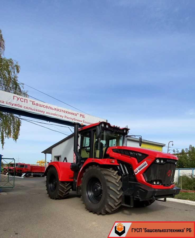 Сегодня ГУСП «Башсельхозтехника» РБ реализовало очередной трактор Кировец К-739МСт1