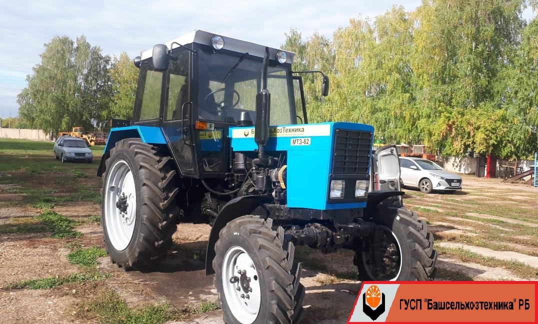 В Чишминском филиале ГУСП «Башсельхозтехника» РБ завершился капитально-восстановительный ремонт и модернизация трактора МТЗ-82.