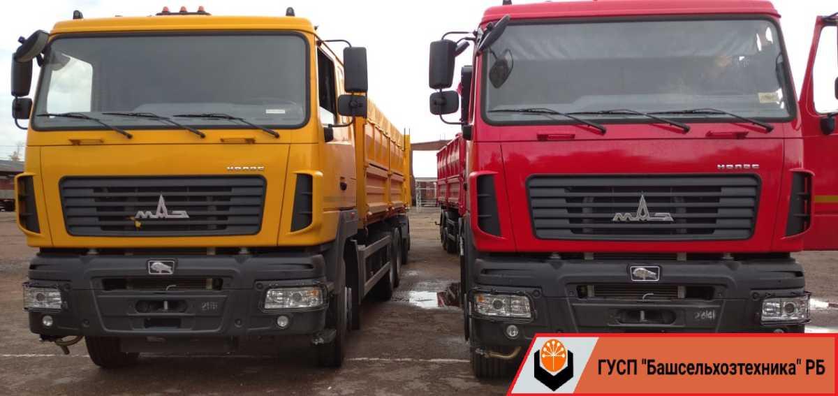 Сегодня в ГУСП «Башсельхозтехника» РБ  поступил очередной автомобиль «МАЗ»