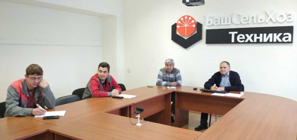 Специалисты ГУСП «Башсельхозтехника» РБ прошли очередное плановое онлайн обучение по программе «Устройство, техническое обслуживание, эксплуатация и ремонт грузовой автотехники МАЗ».